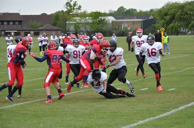 Wembley Stallions East Kent Mavericks